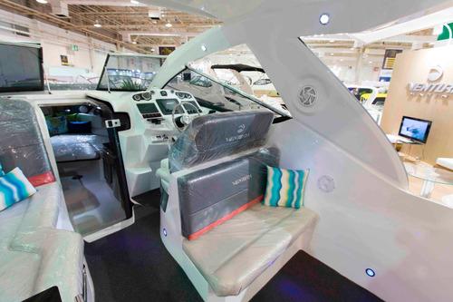 lancha ventura 350 ht premium mercruiser 8.2 380 hp gas. 0km