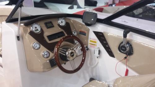 lancha ventura v250 vintage volvo 240 hp mec gas - 0km