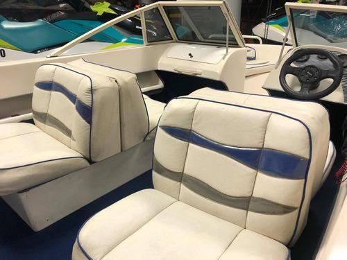 lancha victoria open 490 motor 90hp full con power trim