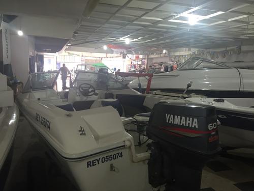 lancha virgin marine 4,70 con yamaha 60 hp con 200 hs de uso