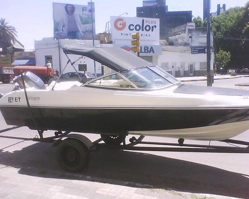 lancha virgin marine 470 open + mercury 40elo. todo nuevo.