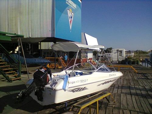 lancha, virgine marine 4.70 casco solo nuevo