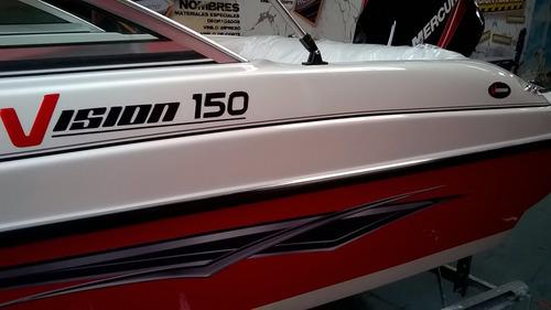 lancha vision 150 e con mercury 40 ! nueva 0 hs!!!