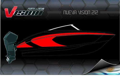 lancha vision 212 pre - lanzamiento - dolar oficial
