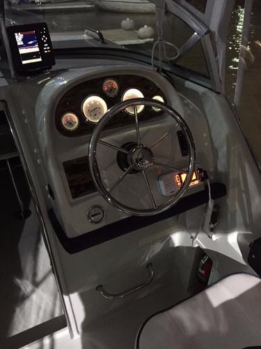 lancha vision cabin 115 4t con baño compartimentado!!