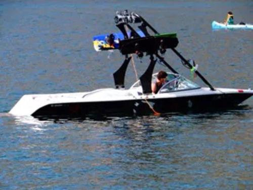 lancha wakeboard air victoria la mejor ola equipada full