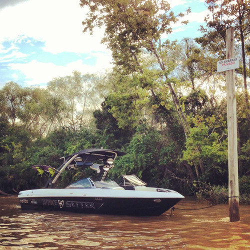 lancha wakeboard malibu vlx 21 (la mas equipada del país)