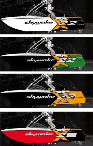 lancha wakeboard ski wakesurf skywake x20 std