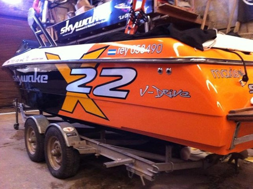 lancha wakeboard wakesurf skywake x22 std