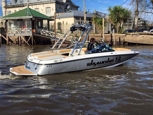 lancha wakeboard wakesurf skywake xl22