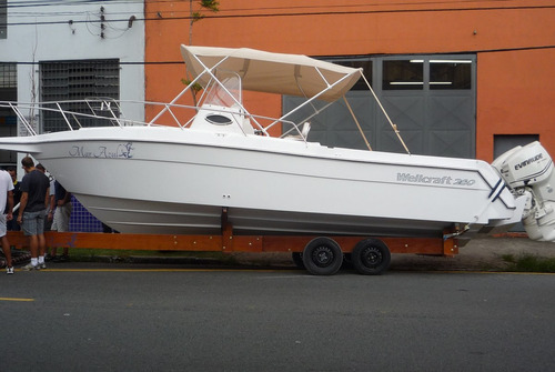 lancha wellcraft 275 sd + 225 hp optimax direto da fabrica