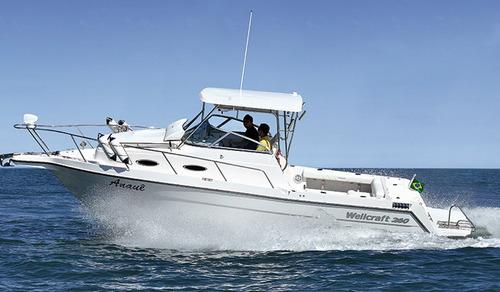 lancha wellcraft 275 wa - para 02 motores de popa