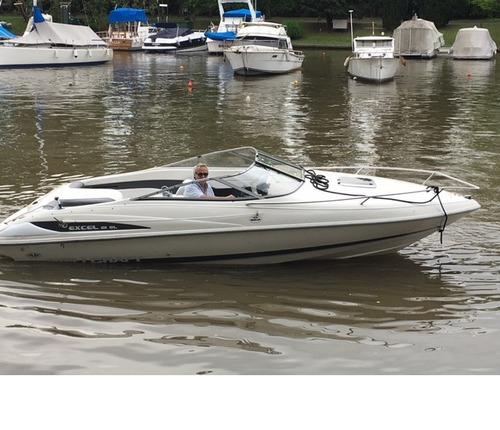 lancha wellcraft excel21 volvo penta 190 hp c/ pata volvo sx
