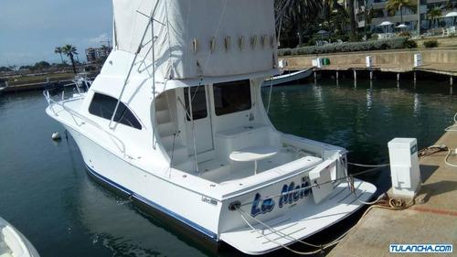 lancha yate pesca deportiva luhrs 41 cv año 2010