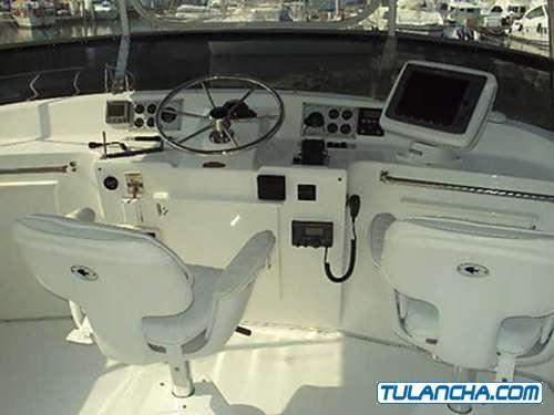lancha yate sport con camarote tollycraft 48 52 año 1998