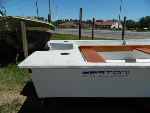 lancha/bote pescador 460 bertoni 2020