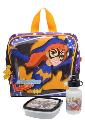 lancheira super hero girls  bat girl sestini - 64730