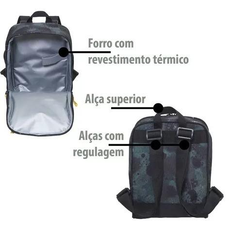 fabf90da9 Lancheira Térmica Packme Paintball Slim Pacific - R$ 75,00 em ...