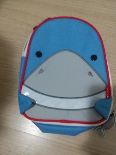 lancheira térmica skip hop zoo tubarão original