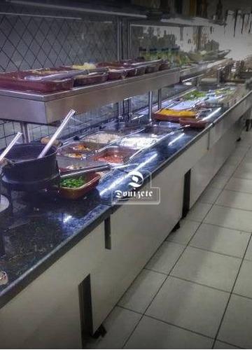 lanchonete e restaurante no centro  santo andré - lo0076