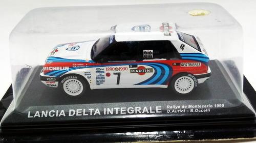 lancia delta integrale rally / d.auriol - 1/43 ixo altaya