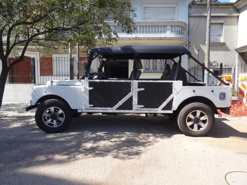 land rover 1952 4x4 impecable reconstrucción