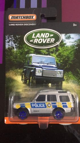 land rover de colección matchbox