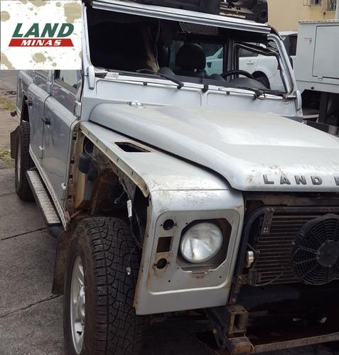 land rover defender 110 2011 - sucata para retirada de peças