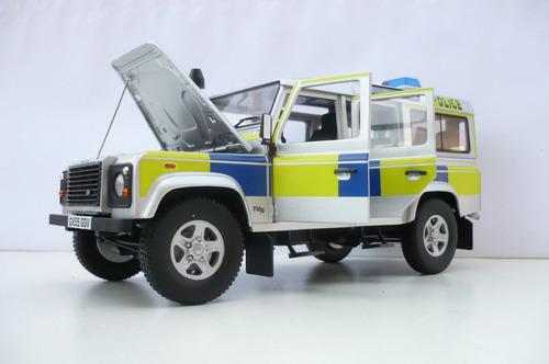 land rover defender 110 station wagon- uk police