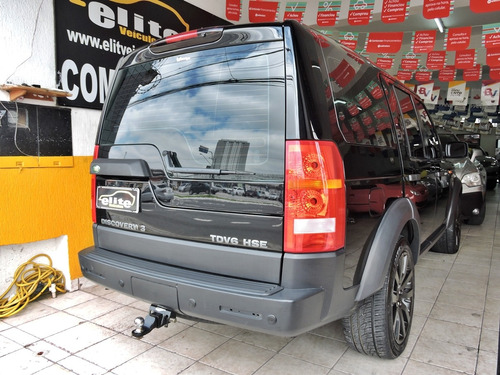 land rover discovery 3 hse 2.7 diesel com teto 7 lugares