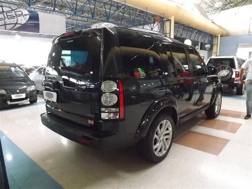 land rover discovery 4 3.0 hse 4x4 v6 24v bi-turbo diesel 4p