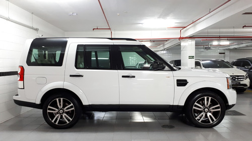 land rover discovery 4 black & white 3.0 bi turbo blindada