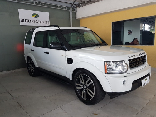land rover discovery 4 black &white