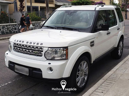 land rover discovery 4 hse 3.0 4x4 diesel aut. 2010 branca