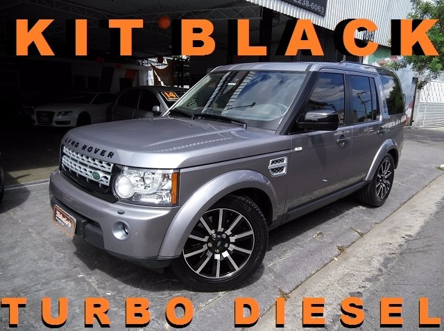 land rover discovery 4 se 2012 cinza 3.0 diesel 4x4 confira