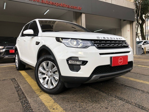land rover discovery sport 2.0 se turbo diesel automatico