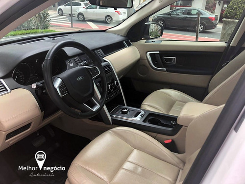 land rover discovery sport hse 2.0 4x4 die. aut. 2017 branca