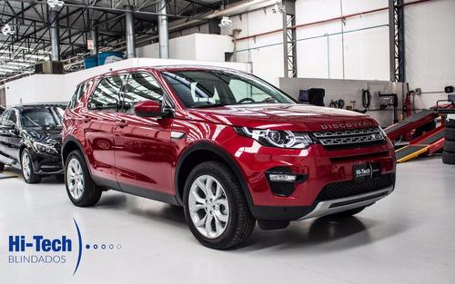 land rover discovery sport se blindado nível 3 a 2018