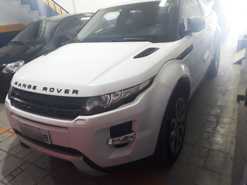 land rover evoque 2.0 si4 dynamic 2012 branco blindado