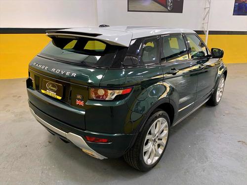 land rover evoque 2.0 si4 dynamic tech pack 5p 2012