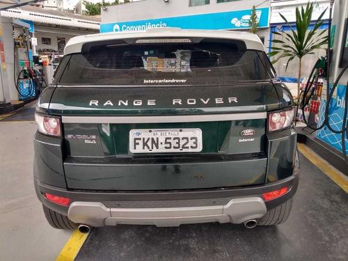land rover evoque 2.0 si4 pure tech pack 5p 2013 unico dono