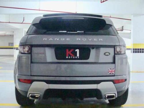 land rover evoque dynamic teck 5p 2012 cinza/branco linda