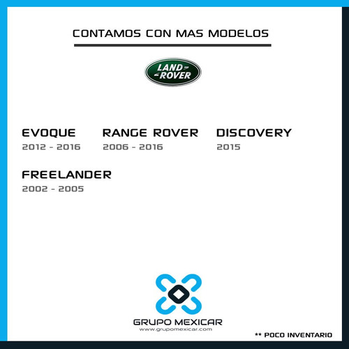 land rover evoque partes desarmo autopartes evoque 2016