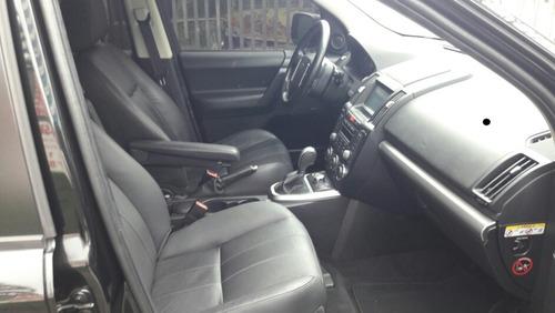land rover freelander 2 2.2 diesel automatica preta ano 2011