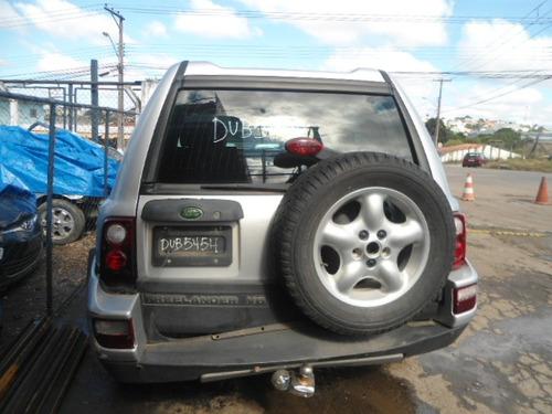 land rover freelander lataria mecânica vidros acessórios