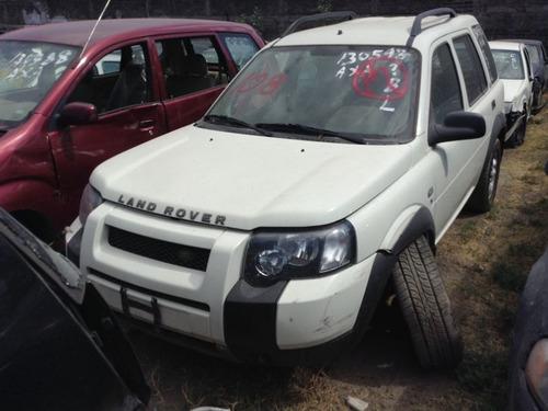 land rover freelander refacciones motor caja suspension