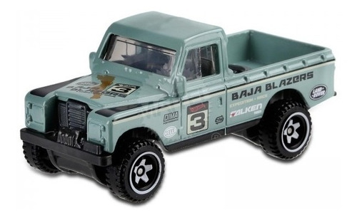 land rover hot wheels 2019 series iii pick up picape jeep