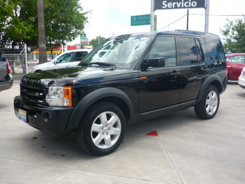 land rover lr3 hse modelo 2005 color negra
