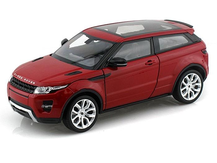 land rover range rover evoque 1 24 welly vermelho r 100 00 em mercado livre. Black Bedroom Furniture Sets. Home Design Ideas