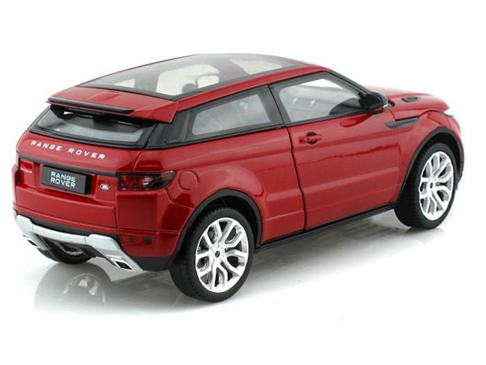 land rover range rover evoque 1 24 welly vermelho r 106 00 em mercado livre. Black Bedroom Furniture Sets. Home Design Ideas